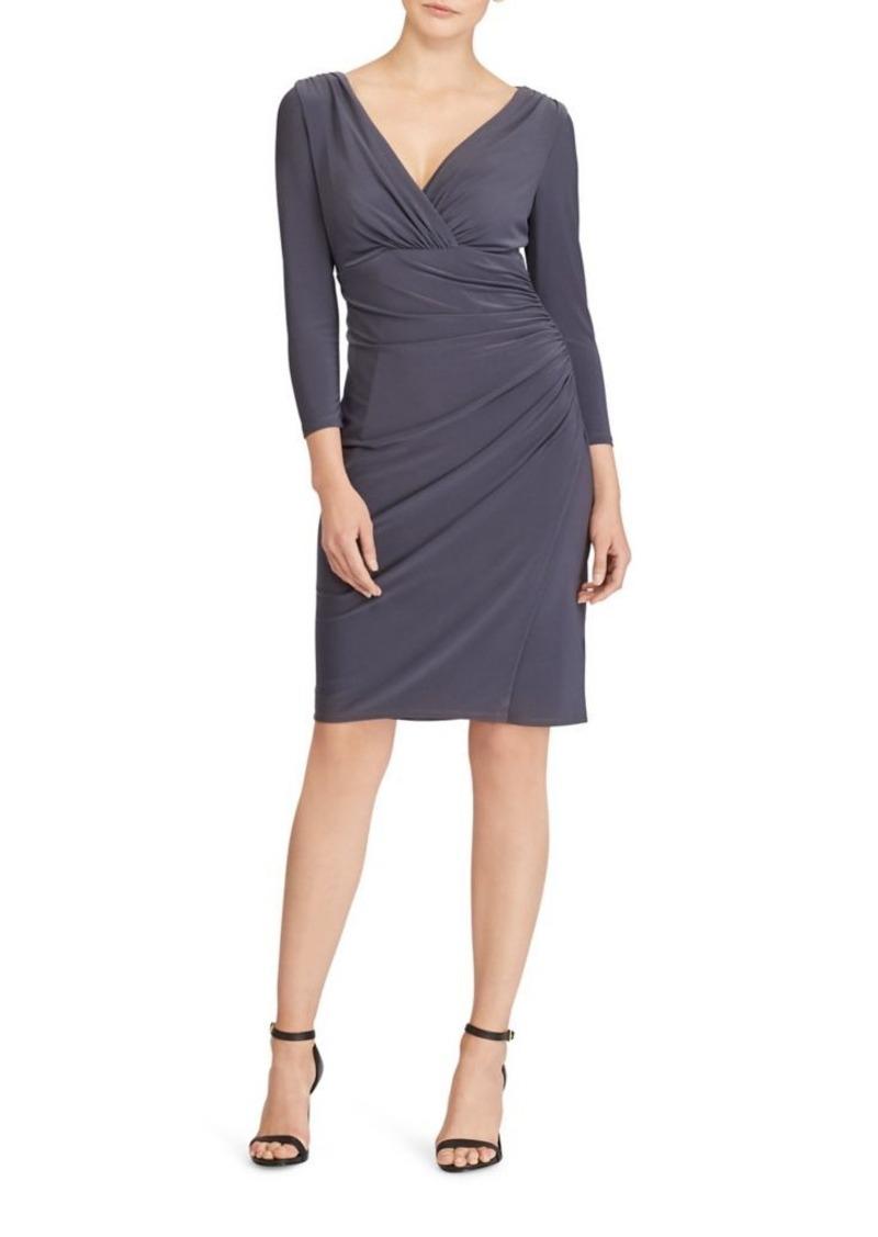 On Sale today! Ralph Lauren Lauren Ralph Lauren Shirred Jersey Dress ...