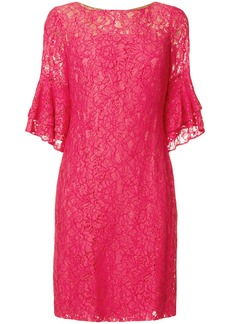Lauren Ralph Lauren short lace dress - Pink & Purple