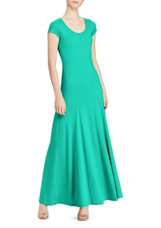 Lauren Ralph Lauren Short Sleeve Maxi Dress