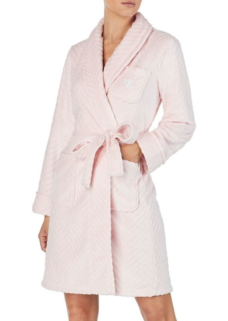 Lauren Ralph Lauren Short Wrap Robe