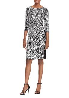 Lauren Ralph Lauren Side-Stripe Dress