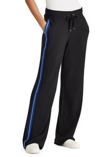 Lauren Ralph Lauren Side-Stripe Mid-Rise Sweatpants