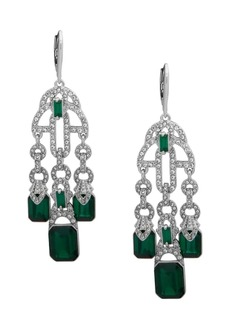 Lauren Ralph Lauren Silvertone Chandelier Earrings