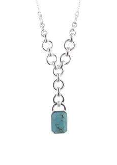 Lauren Ralph Lauren Silvertone Pendant Necklace