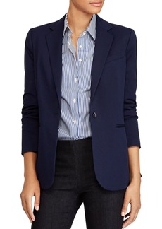 Lauren Ralph Lauren Single-Button Blazer