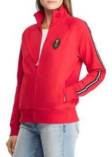 Lauren Ralph Lauren Sleeve-Stripe Track Jacket