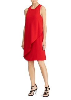 Lauren Ralph Lauren Sleeveless Drape Dress