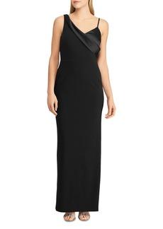Lauren Ralph Lauren Sleeveless Satin Gown