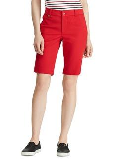 Lauren Ralph Lauren Slim Bermuda Shorts