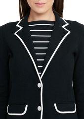 Lauren Ralph Lauren Slim-Fit Dual-Tone Jacket