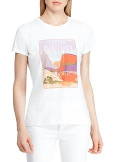 Lauren Ralph Lauren Slim-Fit Graphic Cotton Blend Tee