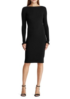 Lauren Ralph Lauren Slim-Fit Ribbed Dress
