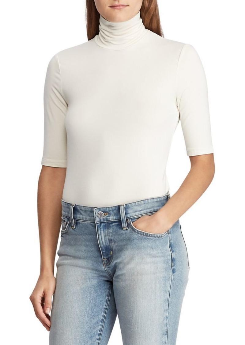 Lauren Ralph Lauren Slim-Fit Turtleneck Sweater