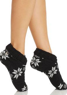 Lauren Ralph Lauren Snowflake Slipper Socks