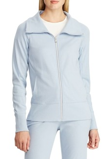 Lauren Ralph Lauren Stand-Collar Raglan-Sleeve Zip-Up