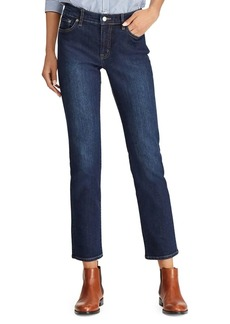 Lauren Ralph Lauren Straight-Fit Low-Rise Jeans