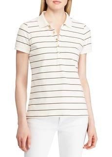 Lauren Ralph Lauren Straight-Fit Striped Stretch Polo