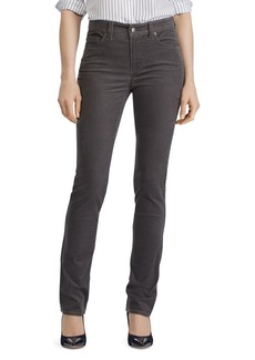 Lauren Ralph Lauren Straight-Leg Corduroy Jeans