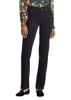 Lauren Ralph Lauren Straight-Leg Corduroy Jeans in Polo Black