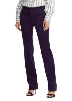 Lauren Ralph Lauren Straight-Leg Corduroy Pants