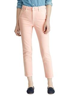 Lauren Ralph Lauren Straight-Leg Jeans in Pink