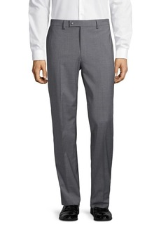Lauren Ralph Lauren Straight-Leg Wool-Blend Pants