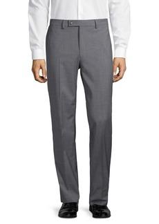 Lauren Ralph Lauren Straight-Leg Wool-Blend Pants