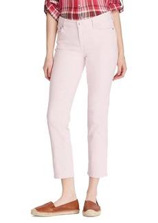 Lauren Ralph Lauren Straight Mid-Rise Jeans