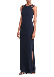 Lauren Ralph Lauren Strappy Shoulder Gown - 100% Exclusive
