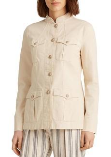Lauren Ralph Lauren Stretch-Cotton Canvas Jacket
