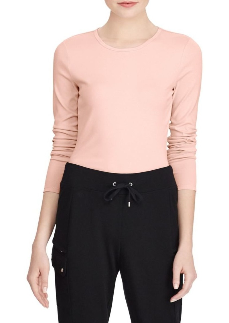 Lauren Ralph Lauren Stretch Long-Sleeve Tee