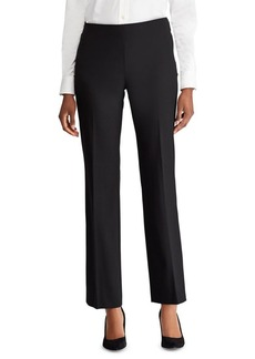 Lauren Ralph Lauren Stretch Mid-Rise Straight Pants
