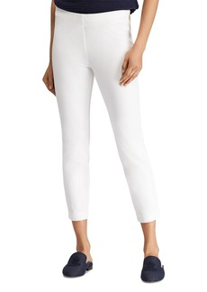 Lauren Ralph Lauren Stretch Twill Skinny Crop Pants