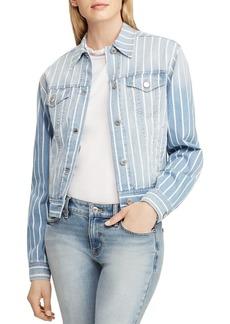 Lauren Ralph Lauren Stripe Denim Jacket
