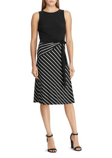 Lauren Ralph Lauren Stripe-Detail Dress