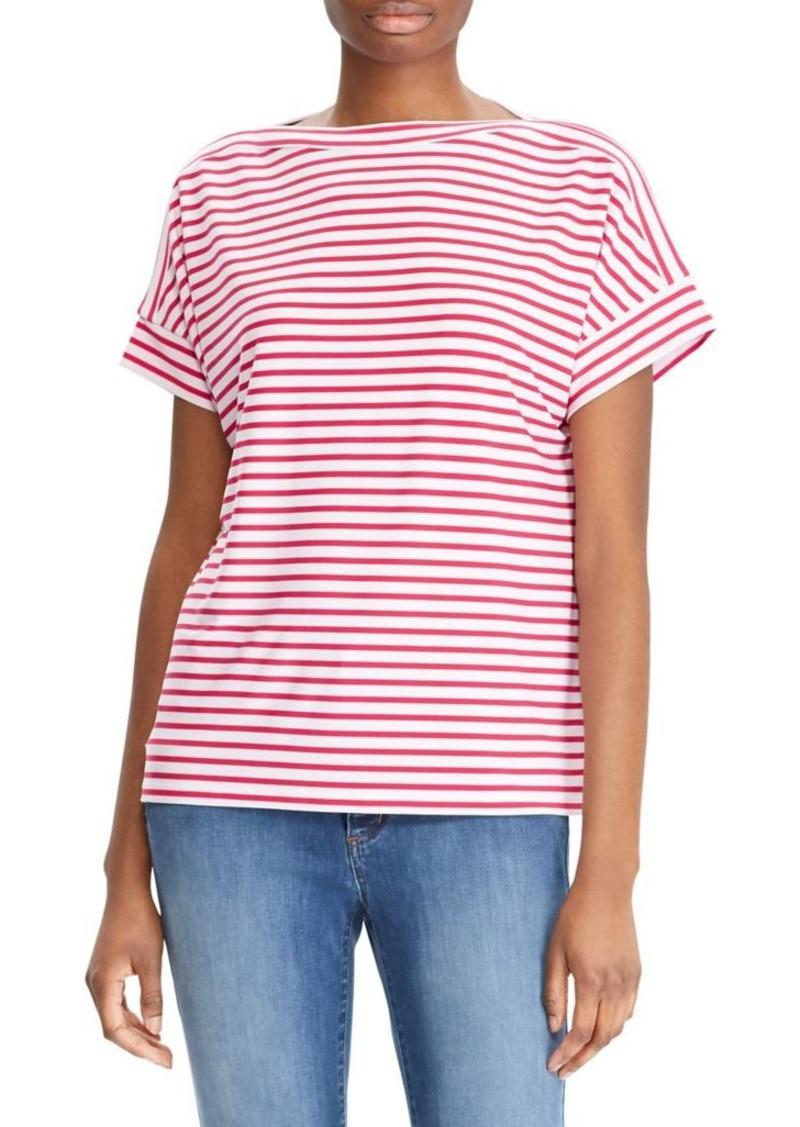 70aa53327dc08 On Sale today! Ralph Lauren Lauren Ralph Lauren Stripe Dolman-Sleeve Top