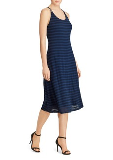 Lauren Ralph Lauren Stripe Racerback Dress