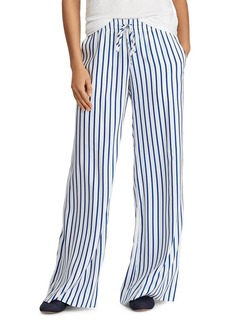 Lauren Ralph Lauren Stripe Wide-Leg Pants