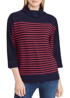 Lauren Ralph Lauren Striped Boxy Top