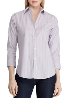 Lauren Ralph Lauren Striped Button-Down Shirt