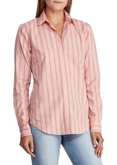 Lauren Ralph Lauren Striped Cotton Shirt