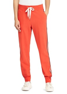 Lauren Ralph Lauren Striped French Terry Joggers