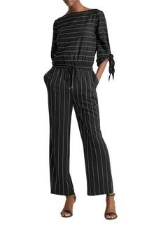 Lauren Ralph Lauren Striped Jumpsuit