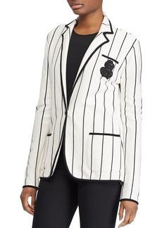 Lauren Ralph Lauren Striped Knit Blazer