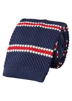 Lauren Ralph Lauren Striped Knit Tie