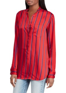 Lauren Ralph Lauren Striped Long-Sleeve Shirt