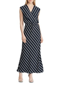 Lauren Ralph Lauren Striped Maxi Dress