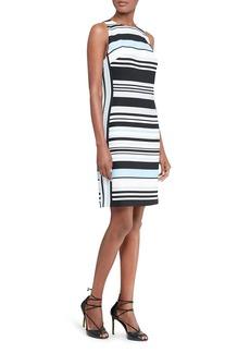 Lauren Ralph Lauren Striped Sheath Dress