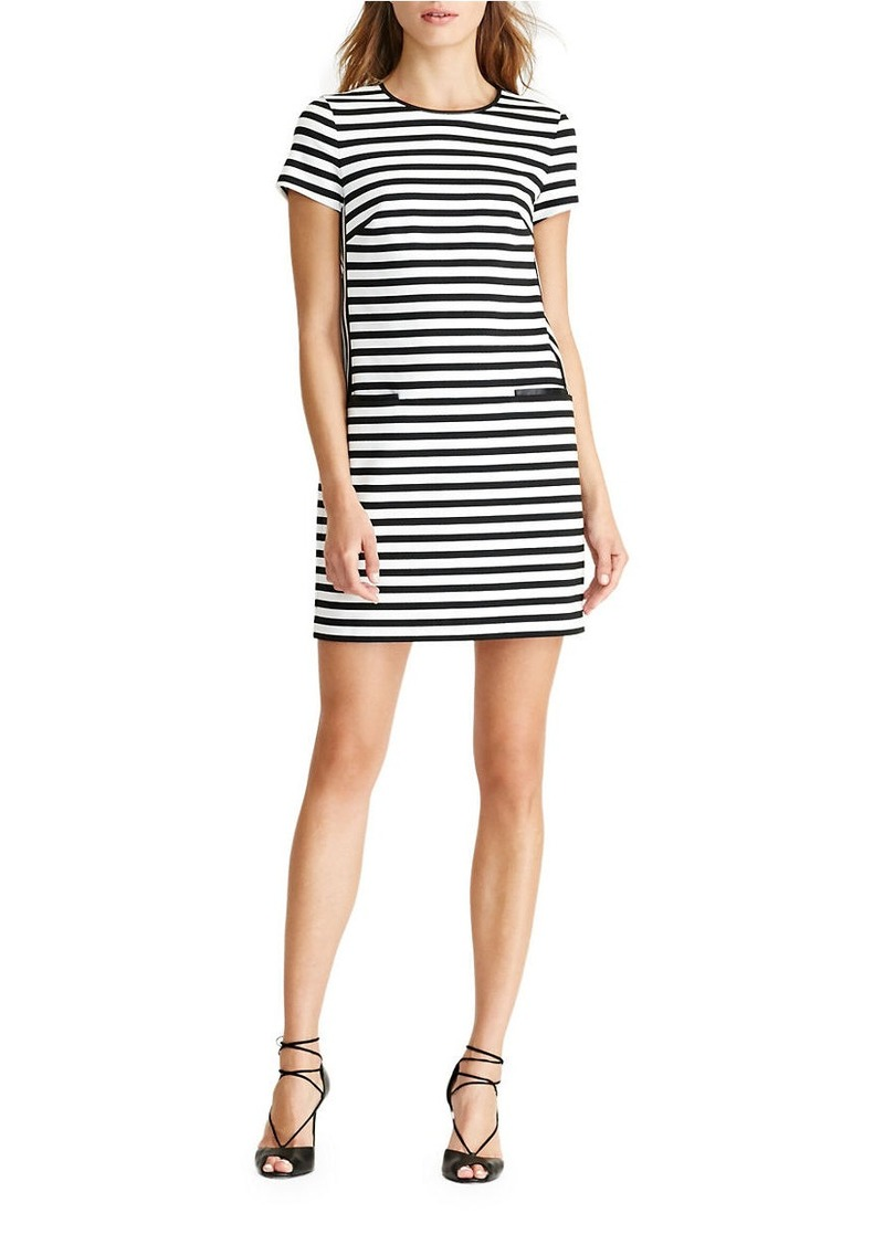 Dress Lauren Shift Ralph Dresses Striped wpUaa0