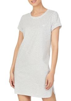 Lauren Ralph Lauren Striped Short Sleeve Knit Sleeptee